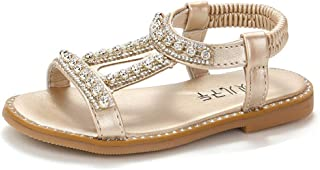 New in Respctful✿ Summer Boho Kids Baby Girls Sandals Crystal Beach Sandals Princess Roman Shoes