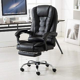 Chaise de jeu MHIBAX chaise d'ordinateur chaise de bureau à domicile, inclinable confortable chaise de patron de massag...