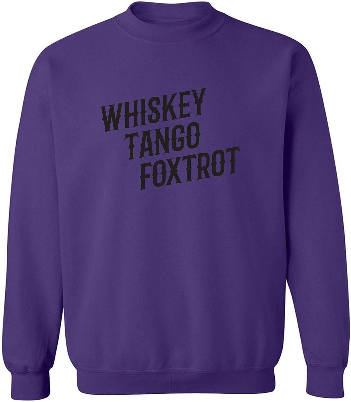 zerogravitee Whiskey Tango Foxtrot Crewneck Sweatshirt