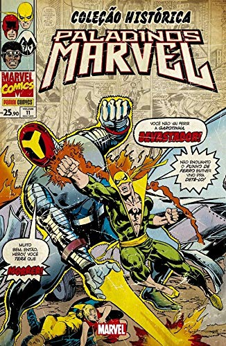 Coleção Histórica: Paladinos Marvel Vol. 11