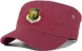 USAF 5TH Bomber Wing Cadet Army Cap Vintage Flat Top Cap