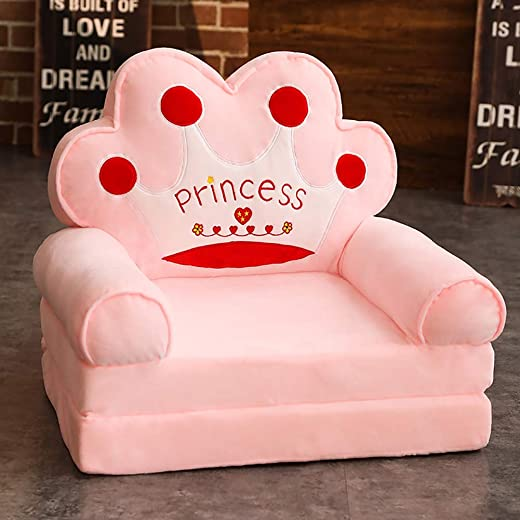 Kids' Furniture ✅WAYERTY Cartoon Kid's Sofa, Children's Armchair,Children Sofa Girl and boy Birthday Gift Toy Lazy Upholstered Cute Baby Small Sofa Seat Kid Chair Washable-pinkA 50x40x45cm(20x16x18inch)