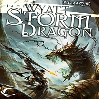 Storm Dragon audiobook cover art