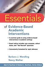 Best essentials of evidence-based academic interventions Reviews