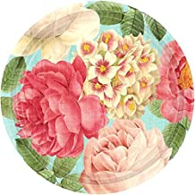 Blissful Blooms Dinner Disposable Tableware