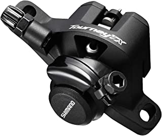 SHIMANO Tourney Mountain Bicycle Mechanical Disc Brake - BR-TX805 (Black)