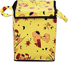 RED HOT Designer Medium Foldable Laundry Bag