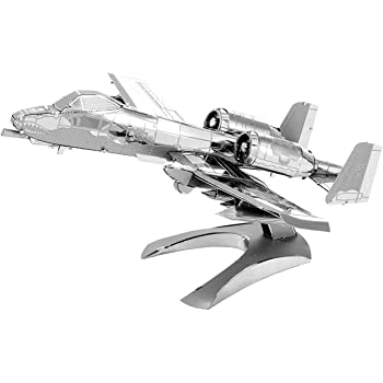 Metal Earth MMS109502481A 10Thunderbolt Ii Model Aircraft Construction Toy