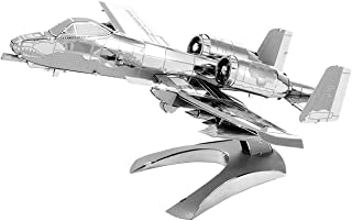Metal Earth MMS109 502481 A 10 Thunderbolt Ii Model Aircraft Construction Toy