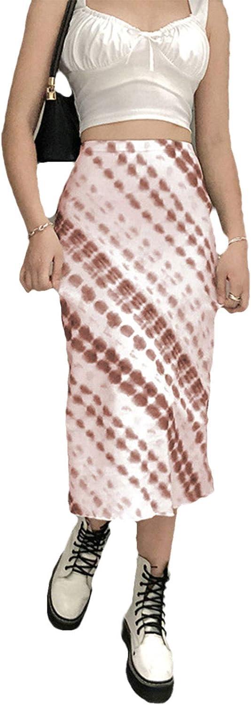 BuChaMoney Women 's Bohemian Long Skirts High Waist A-Line Maxi Skirt Dress Wrap Skirts