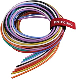 BNTECHGO 16 Gauge Silicone Wire Kit 10 Color Each 5 ft Flexible 16 AWG Stranded Tinned Copper Wire