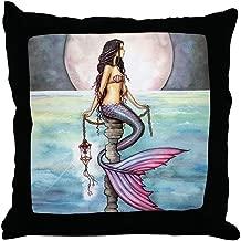 CafePress Enchanted Sea Mermaid Art by Molly Harrison Throw Decor Throw Pillow (18