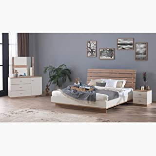 Home Box Cardiz 5-Piece King Bedroom Set - 180x200 cms