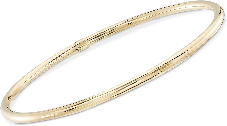 Ross-Simons 14kt Yellow Gold Bangle Bracelet