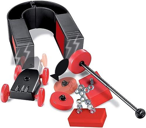 EP-Toy Wissenschaftliches experimentelles Spielzeug, Magnet Car Kinderpuzzle Wissenschaft Chemie Experiment DIY Spielzeug, Lernspielzeug