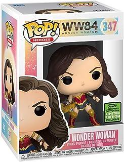 Funko Spring Convention (ECCC) 2021 Exclusive - Wonder Woman 1984 - Wonder Woman con Tiara Boomerang (metálico)