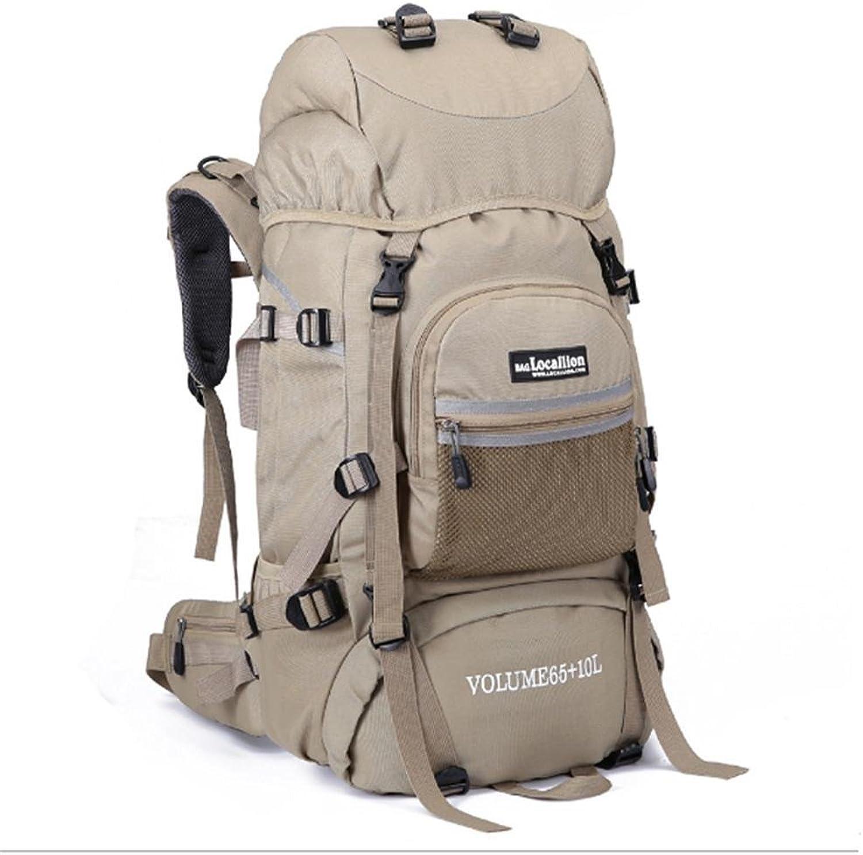 CcCoCc Outdoor-Bergsteigen-Tasche Multi-Funktions-Mehrfachtaschen Wasserdichter dauerhafter kampierender Trekking-Rucksack