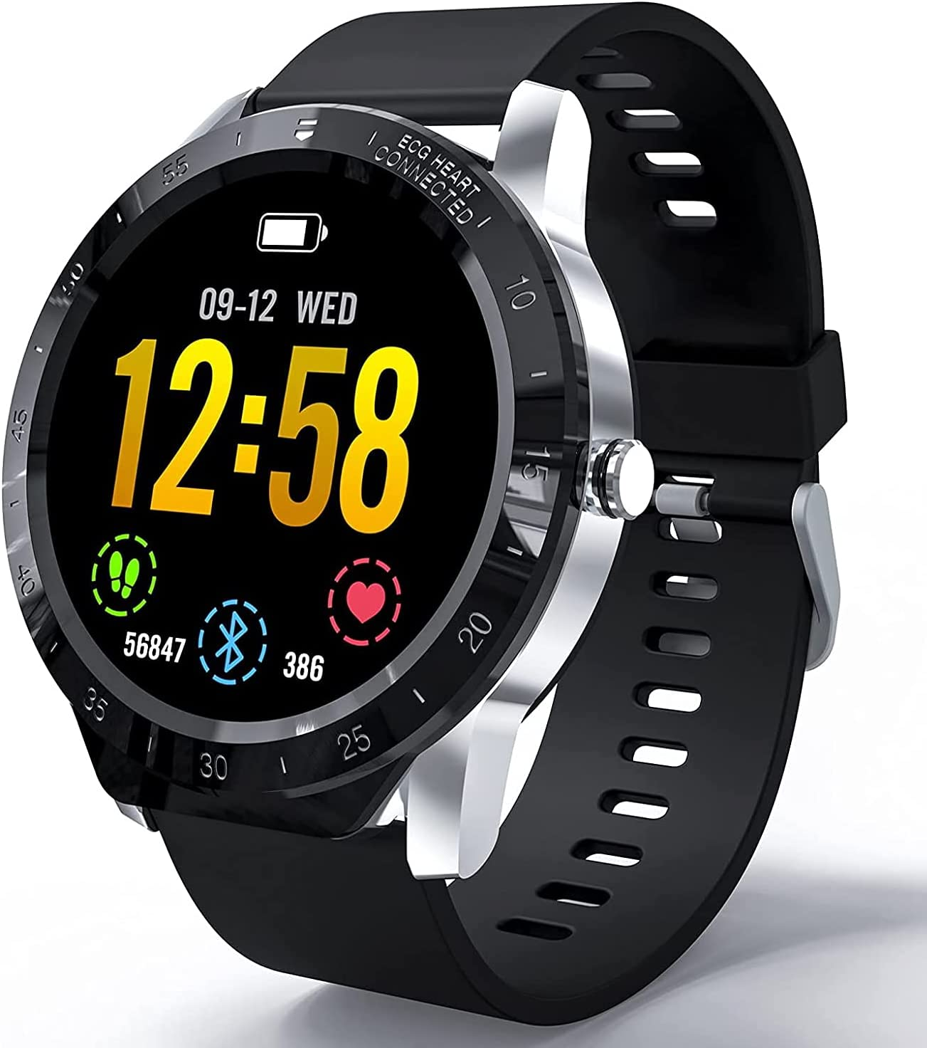 Smart Watch Men Fitness Tracker HAOQIN VS1 Heart Moni Sleep Rate Great Spring new work one after another interest