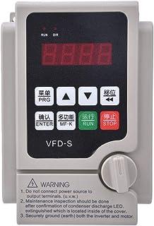 Convertidor de Frecuencia Unidad de Frecuencia Entrada Trifásica Salida Trifásica 380V Función de Ajuste Automático, Más Conveniente de Usar(3.7KW)