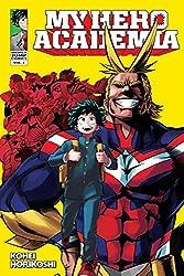 My Hero Academia Volume 1 Manga Review | Sharkberg