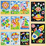 UYGN Creative Foam Stickers 3D Mosaics Puzzle Drawing Toys Juego para Niños Early Educational DIY Kits Arts Craft Toy para Niños
