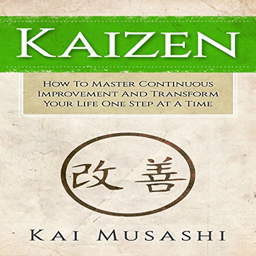 Kaizen audiobook cover art