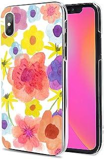 Huawei P40 Pro 5G ケース カバー スマホケース ハード TPU 素材 おしゃれ かわいい 耐衝撃 花柄 人気 全機種対応 水彩画-七色の花 シンプル ファッション フラワー 9793635