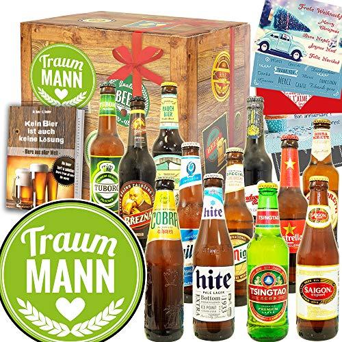 Traummann / Für Traummann Geschenk / Bierset Welt