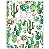 2021-2022 Monthly Planner - 18 Months Monthly Calendar/Planner 2021-2022 with Tabs, 9' x 11', Jul 2021 - Dec 2022, 13 Note Pages, Twin-Wire Binding, Two-Side Pocket, Perfect Organizer
