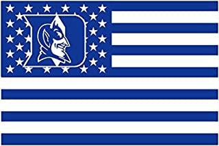 Duke Blue Devils 3x5FT Stars and Stripes Flag Devils-nation