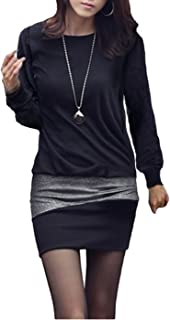 Mississhop- Miniabito con fascia glitterata, adatto per feste, taglie S M L XL XXL