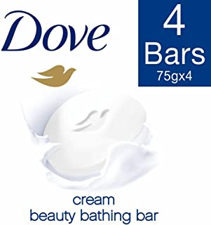 Dove Cream Beauty Bathing Bar, 3x75g