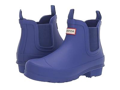 Hunter Kids Original Chelsea (Little Kid/Big Kid) (Electric Storm) Kids Shoes