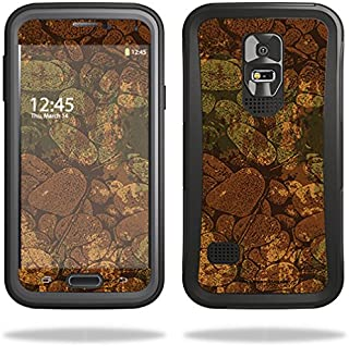 Skin Compatible with OtterBox Preserver Samsung Galaxy S5 Case – River Stones | MightySkins Protective, Durable, and Unique Vinyl wrap Cover | Easy to Apply, Remove | Made in The USA