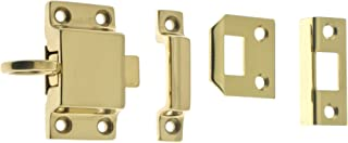 idh by St. Simons 21006-003 Professional Grade Quality Genuine Solid Brass Transom Catch, Polished Brass