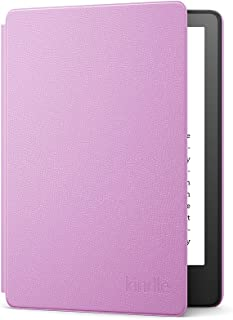 Étui en cuir pour Amazon Kindle Paperwhite   Compatible avec les appareils 11e génération (modèle 2021)   Lavande