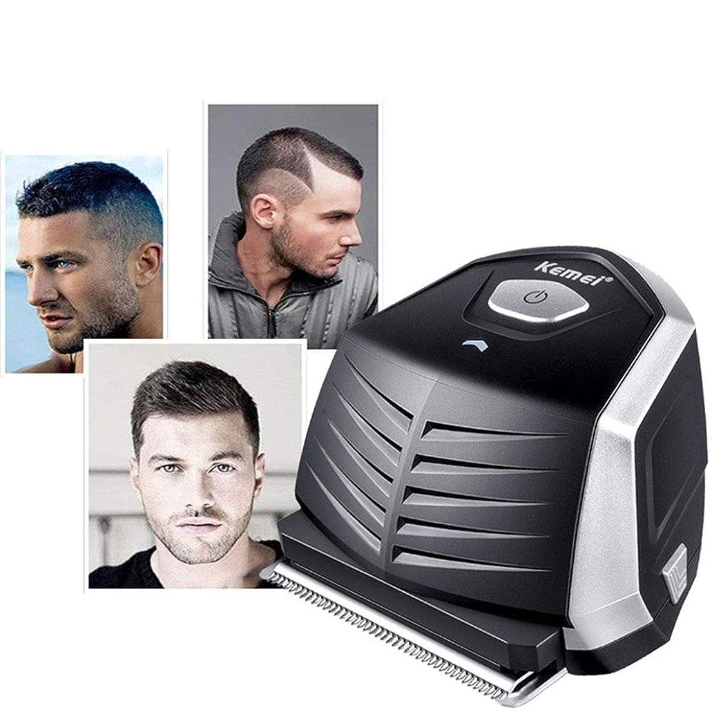 サージいろいろ優先バリカン0ミリメートル禿げ頭頭男性diyのヘアカッターポータブルヘア髭トリマーコードレスショートカットプロ自己散髪機