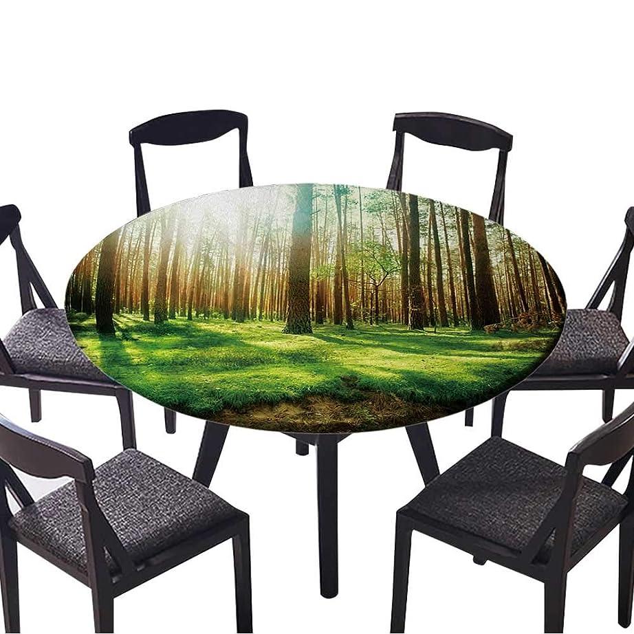 倍増ブレイズ年お手入れが簡単な布製テーブルクロス 木製 アメリカ国旗 ホーム/パーティー/結婚式用 (エラスティックエッジ) 35.5