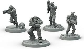 Fallout: Wasteland Warfare Modiphius Entertainment Brotherhood of Steel - Frontline Knights Box Toy, Gray