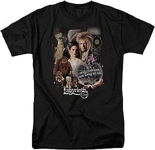 Labyrinth Movie Goblin King David Bowie T Shirt & Stickers