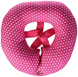 Puppy Bumpers - Pink Dots - Up To 10' - Made In USA Puppy Bumpers 100% Cotton Stuffed Safety Fence Collar to keep your pet safely on the right side of the fence