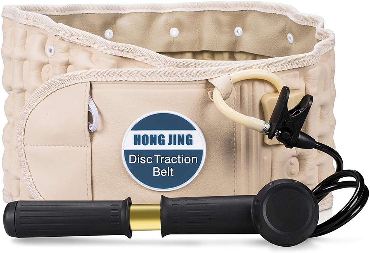 HONGJING Spinal Decompression Back Belt & Lumbar Support for Back Pain  Lower Back Traction Device(2949 Waist)