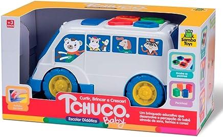 Onibus Escolar Didatico Tchuco Baby - Samba Toys