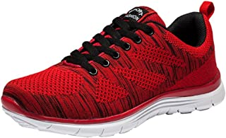 Kagains Mens Casual Breathable Sport Shoes Lightweight Athletic Outdoor Knit Running Sneakers