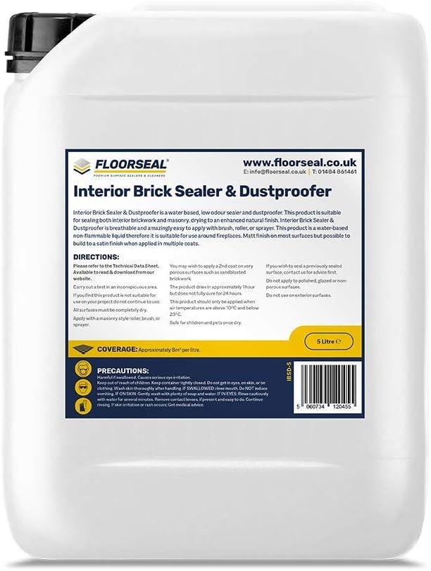 Floorseal Interior Brick Sealer Dustproofer 5 Litre Amazon Co Uk Kitchen Home