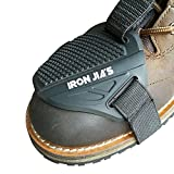 IRON JIA'S Zapatos de motocicleta Protector Gear Shifter Calzado Accesorios para botas Cover Caucho resistente al desgaste