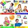 Brickyard Building Blocks STEM Toys & Activities - Educational Building Toys for Kids Ages 4-8 w/ 163 Pieces, Kid-Friendly Tools, Design Guide and Toy Storage Box #1