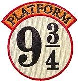 Ata-Boy Parche con licencia oficial de Harry Potter 9 3/4 Hogwarts Express, pin y más. - -
