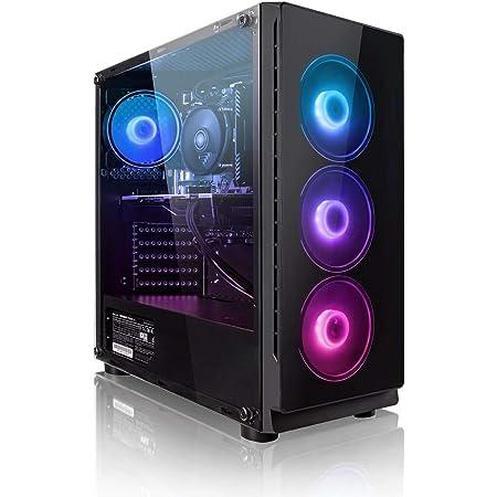 """Pack Gaming - Megaport PC AMD Ryzen 5 3500X • 24"""" Philips Full-HD • Teclado y ratón gaming • GeForce GTX1660 6GB • 16GB DDR4 • Windows 10 Home • 1TB HDD • 240GB SSD • PC Gamer • Ordenador de sobremesa"""