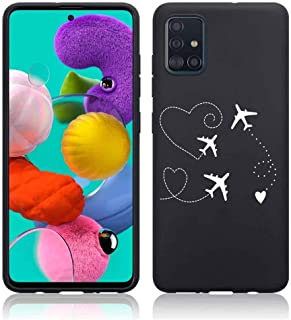 ZhuoFan for Xiaomi Redmi Note 10 Case (6.43 inch) Phone Case Silicone Black with Pattern Ultra Slim Shockproof Soft Gel TP...